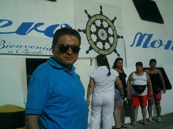 Sol Caribe San Andres: paseo en barco que hace el hotel