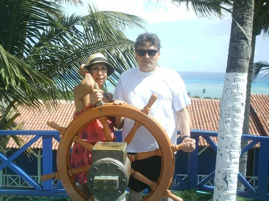 Sol Caribe San Andres: en el hotel sol caribe campo