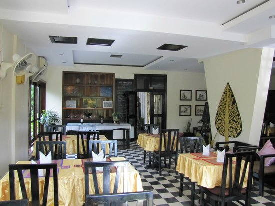 كوول إن سييم ريب: Restaurant where we had breakfast.