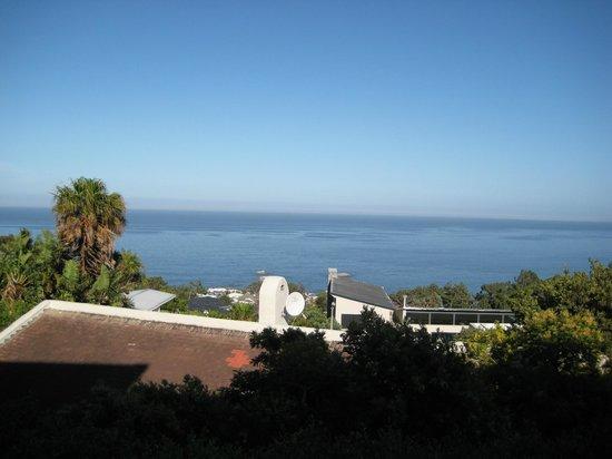 Entabeni Guest House: Blick von Terasse