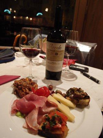 Cantina Del Vecchio: Bar chow