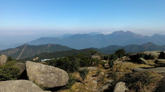 Shiniu Mountain: view