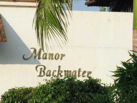Manor Backwater Resort: Name Plate
