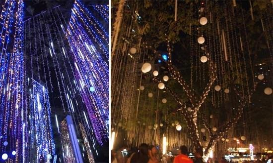 Makati, Philippines: The Ayala Triangle Lights and Sounds Show