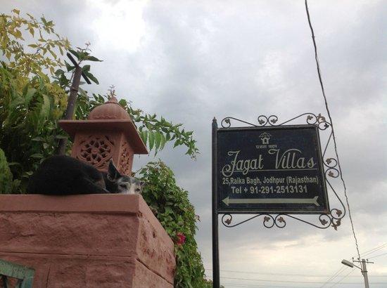 Jagat Vilas: In front of gate