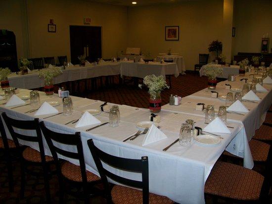 Quality Inn : Arthur St. Claire Room
