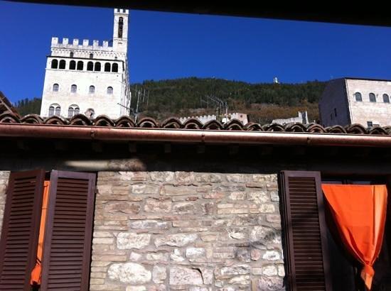 Residenza di Via Piccardi: dalla finestra