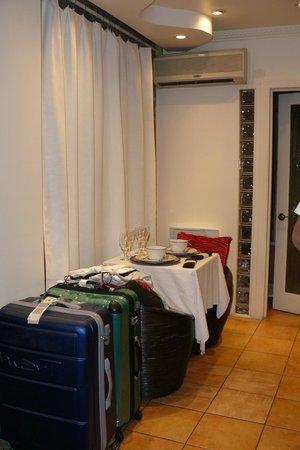 Hotel Kutuma: Angolo cucina