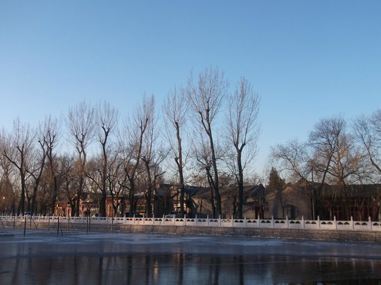 Back Lakes (Hou Hai): hou hai in the early morning, winter
