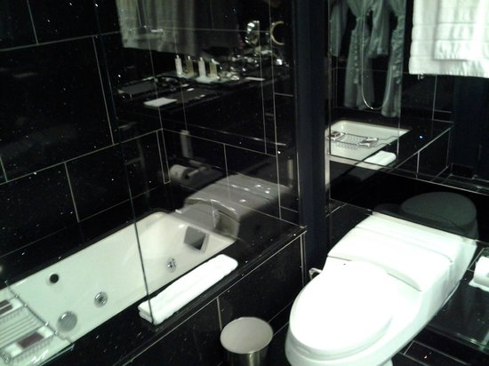 The Chatwal, A Luxury Collection Hotel, New York: bathtub and toilet