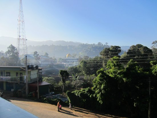 Hotel Orient Bandarawela: View from room