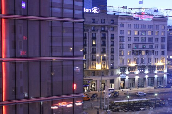 Hotel Siru: Da janela do banheiro