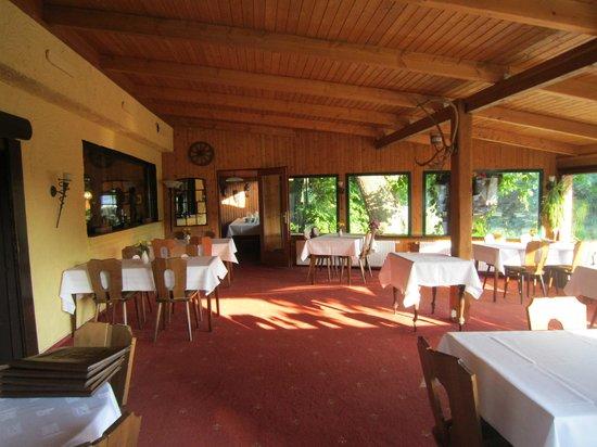 Lurschau, ألمانيا: Dining room 