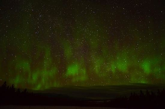 Takhini River Lodge: the aurora that I had seen!