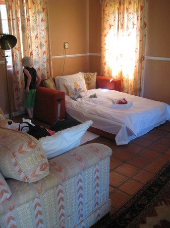 Montana Guest Farm: Kinderbett