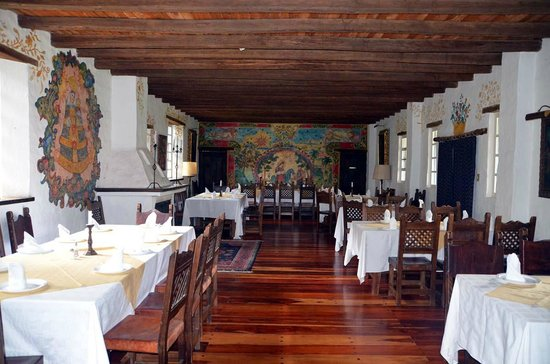 Hacienda Cusin: GRAND DINING ROOM MONASTERY