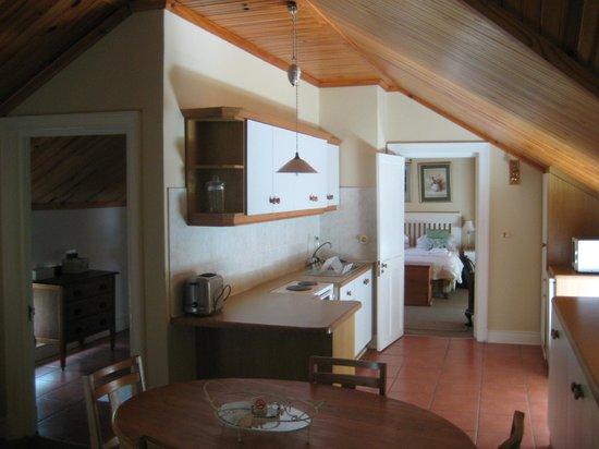 Knorhoek: Küche im Zimmer