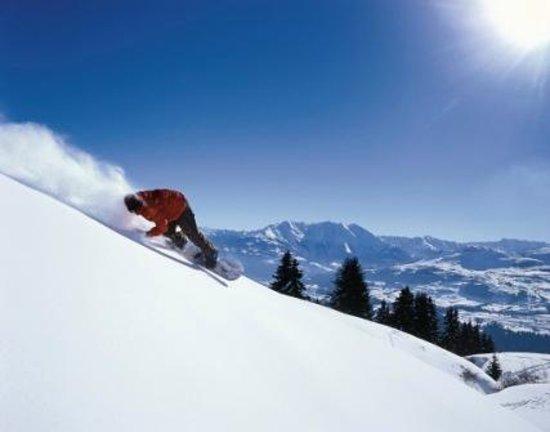 Hotel Ucliva: Herrliches Skigebiet