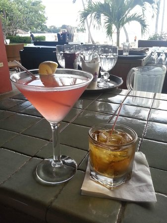 Copamarina Beach Resort & Spa: Great drinks!