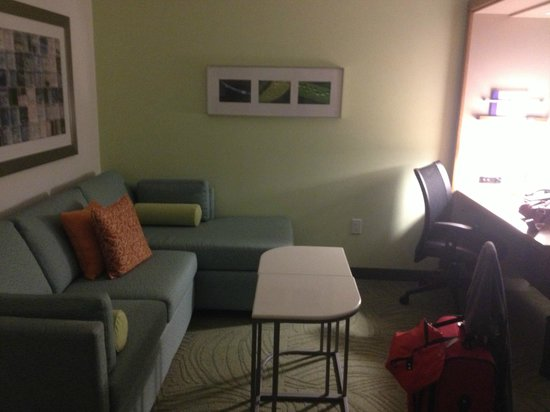 SpringHill Suites Houston The Woodlands: sitting area