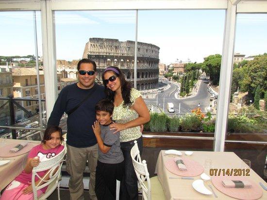 Palazzo Manfredi - Relais & Chateaux: Vista desde la azotea
