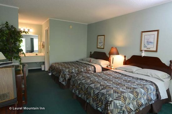Laurel Mountain Inn: Two Double Beds