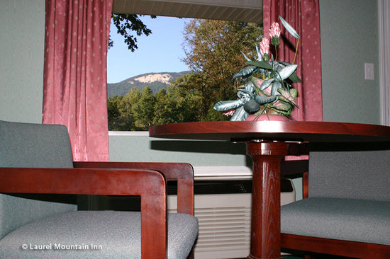 Laurel Mountain Inn: view from motel room
