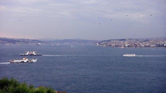 The Marmara Taksim: Vue panoramique de la chambre