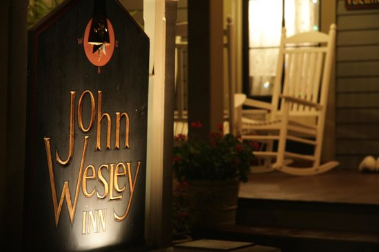 The John Wesley Inn front porch
