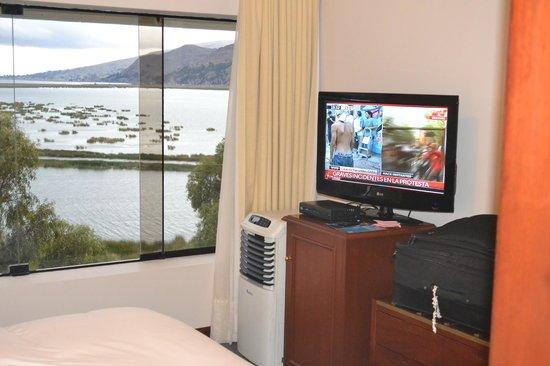 的的喀喀湖自由飯店照片
