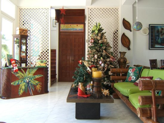 Hosteria Mar y Sol: Eingangsbereich