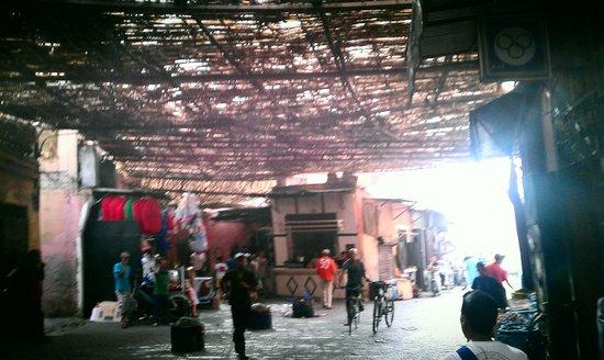 Riad d'Airain Marrakech: Market