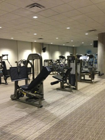 W Dallas Victory Hotel: Fitness-Bereich W Hotel Dallas