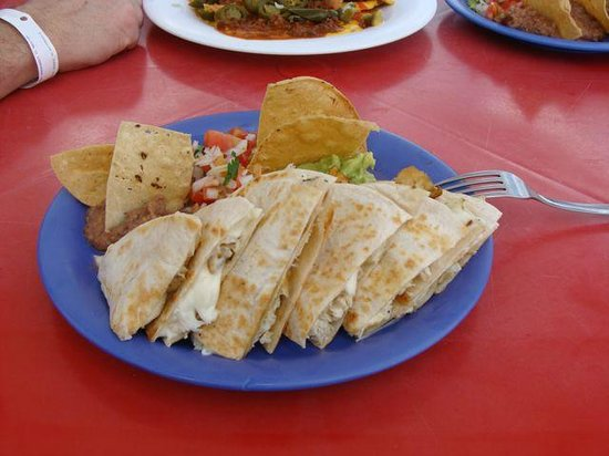 Cozumel Sports: Wonderful Quesadilla