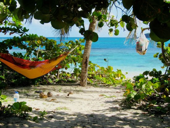Flamenco Beach: View from a Camp Site