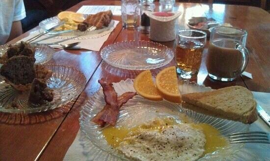 Okemo Inn: delicious breakfast