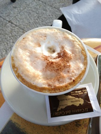 Villa Astoria: Breakfast cappuccino