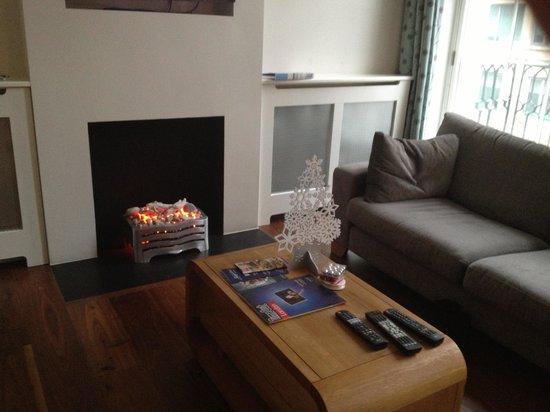 SACO Bloomsbury - Tavistock Place: Le sejour tres chaleureux avec cheminee