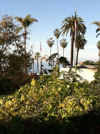 The Bed & Breakfast Inn at La Jolla: View from patio