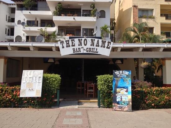 The No Name Bar & Grill: No Name marina Vallarta.