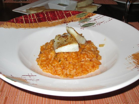 The Westin Golf Resort & Spa, Playa Conchal: Risotto and Fish