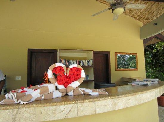 The Westin Golf Resort & Spa, Playa Conchal: Towel Animals