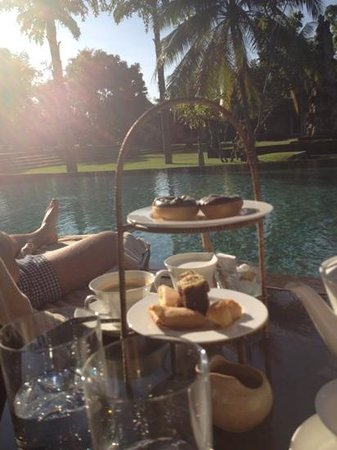 The Chedi Club Tanah Gajah, Ubud, Bali – a GHM hotel: free afternoon tea