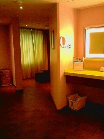 Elite Park Avenue Hotel: Ladies change room in wellness area