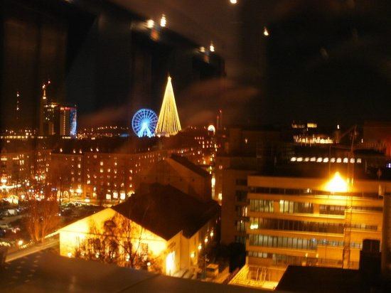 Elite Park Avenue Hotel: View of Liseberg amusement park from lift area on 10th floor