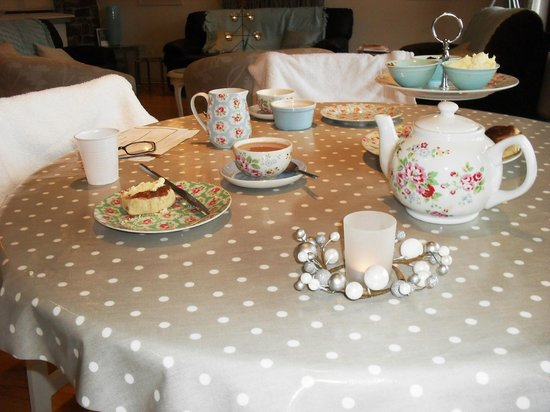 Hartland House Spa and Cottages: Lunch
