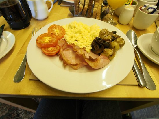 Kilmory Guest House: Breakfast :)