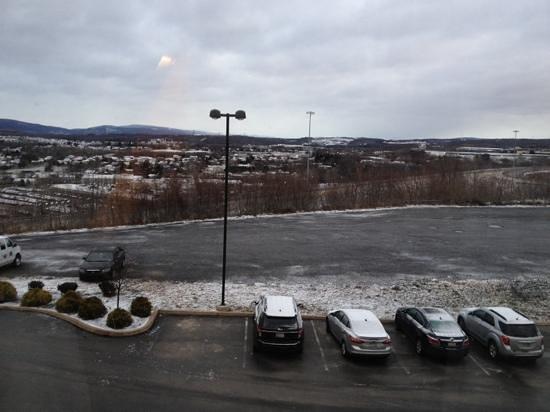 Fairfield Inn & Suites Wilkes-Barre Scranton: view from our window
