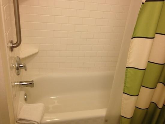 Fairfield Inn & Suites Wilkes-Barre Scranton: shower