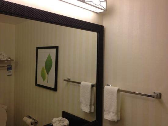 Fairfield Inn & Suites Wilkes-Barre Scranton: bathroom mirror
